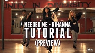 Dance TUTORIAL [Preview] - Needed Me - Rihanna  Choreography by Eden Shabtai