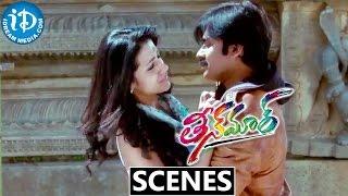 Teen Maar Movie Scenes    Pawan Kalyan, Trisha Superb Climax Scene