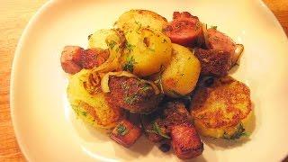 Russian Sausage and Potatoes - Dacha Classic Recipe
