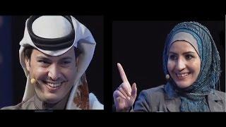 HD تحدي  الشاعر عبدالرحمن الشمري للشاعرة قمر الجاسم