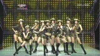 [HD] 111021 SNSD - Mr.Taxi (Korean Version) Comeback Stage @ MuBank