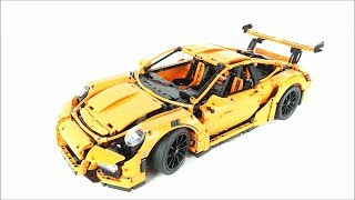Lego Technic Porsche 911 GT3 RS - Lego 42056 Speed build