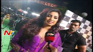 Shreya Ghoshal Thanks Telugu People @ @ IIFA Awards Hyderabad | NTV Exclusive