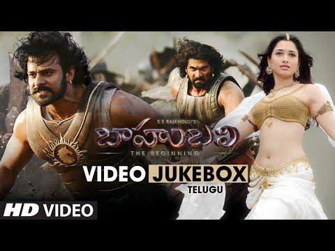 Baahubali Video Jukebox (Telugu) || Prabhas, Rana Daggubati, Anushka, Tamannaah || Bahubali Jukebox