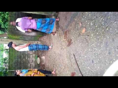 আমি ২০১৫ সালে বাড়িতে যাওার পর মেজু ভাই আার ছোট বোন জামাই একটা খাসি খাইলাম