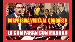 #VIZCARRA DESAFÍA AL CONGRESO POR REFORMAS POLÍTICAS Y EL FUJIAPRISMOM DENUNCIA INTENTO DE GOLPE
