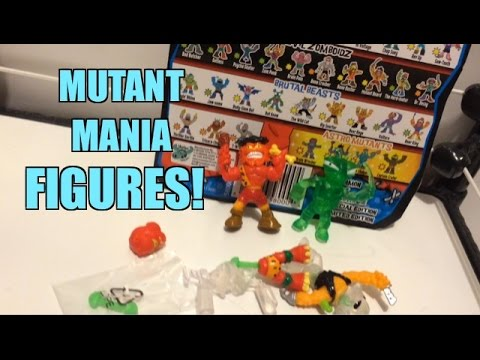 MUTANT MANIA Figure Review Collectible Mix n Match Wrestling Figures from Moose Toys