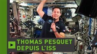 Video-conférence de Thomas Pesquet depuis l'ISS (Direct du 23.11)