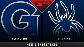 Georgetown vs Richmond - College Basketball Hype   Stadium