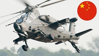 China Flies Graphene-Armored Z-10 Attack Helicopter