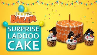 How to make A Surprise Laddoo Cake!