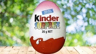 How To Make a Giant Kinder Surprise Egg [Reverse]