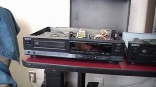 Sony CD Player CDP-350 from 1987