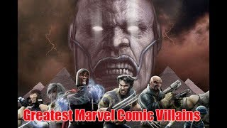 10 Greatest Marvel Comic Villains | Amazing Top 10