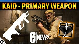 Kaid Primary Weapon & Icon - 6News - Tom Clancy