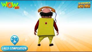 Motu Patlu - Funny Gags #24 - 1 hour episodes!