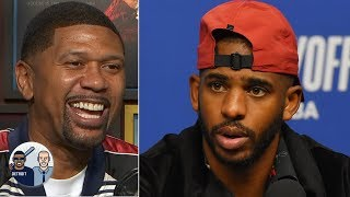 Why doesn't Chris Paul like people touching his head? Jalen Rose may have an answer   Jalen & Jacoby