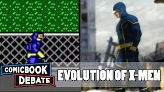 Evolution of X-Men Games in 9 Minutes (2017)