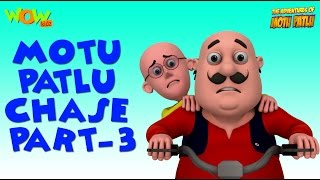 Chase - Motu Patlu Compilation - Part 3 As seen on Nickelodeon As seen on Nickelodeon