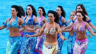 رقص شرقي مصري - Hot Belly Dance - Mermaids