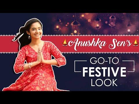 Xxx Mp4 Anushka Sen Go To Festive Look India Forums Exclusive 3gp Sex