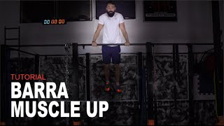 Aprenda a Fazer Barra Muscle Up em 4 Passos   Sérgio Bertoluci - X21