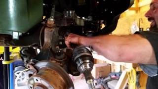 JOHN DEERE GATOR FRONT AXLE INSTALL -$200 easy fix