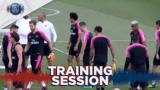 15 minutes d'entraînement du Paris Saint-Germain #PSGLive