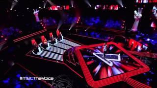 رأي لجنة تحكيم ذا فويس في غسان بن ابراهيم - مرحلة الصوت و بس - MBC THE VOICE