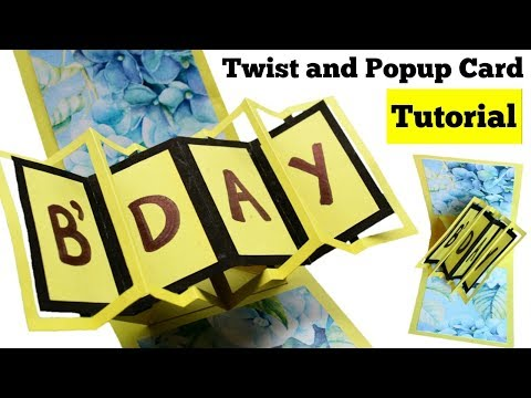 Xxx Mp4 How To Make Twist And Pop Up Card Handmade Birthday Card Tutorial Pop Up Birthday Card 3gp Sex