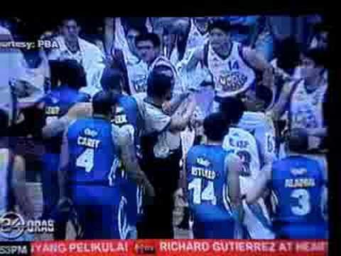 James Yap and Kris Aquino in 24 Oras and Balitanghali