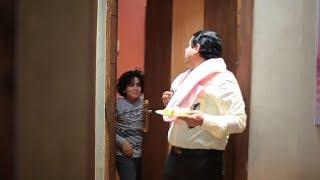 """كوميديا الطفل """" سليم هاني """" مع حكيم المصري من كواليس مسلسل يوميات زوجة مفروسة - Youmyat Zoga Mafrosa"""
