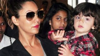 """Gauri Khan Talks About AbRam - """"People Just Pick Him And Run."""""""