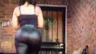 Deelishis Big Booty Jiggle Walk In Slow Motion