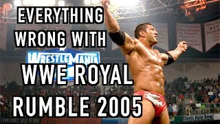 Episode #403: Everything Wrong With WWE Royal Rumble 2005
