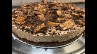How To Make Snickers Cheesecake