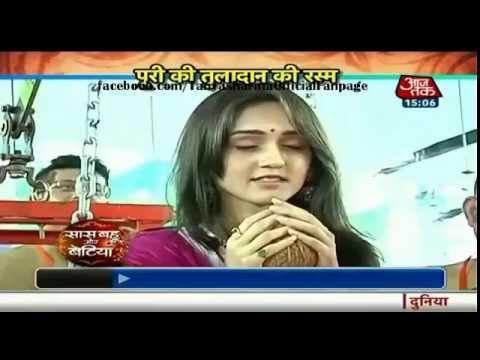 Tanya Sharma visits GSB Dahisar Borivali Pandal with SBB