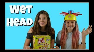 WET HEAD CHALLENGE || Taylor and Vanessa