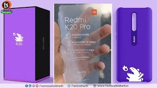 Redmi K20 & K20 Pro Price | Camera | Specification | SD 855 | India | Unboxing | Technical Siddharth