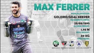 Max Ferrer - Goleiro - 2018