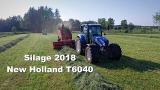New Holland T6080 - Silage 2018