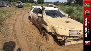 Mud Offroading with Endeavour, Fortuner, Thar, Pajero Sport. Aug 2019