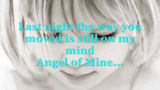 Angel of mine lyrics  (04)