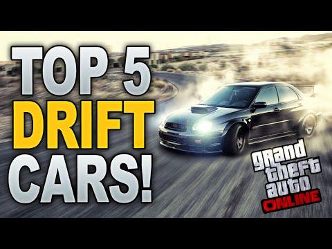 GTA 5 Online: TOP 5 DRIFT CARS! (Best Drifting Cars on GTA 5 Online)
