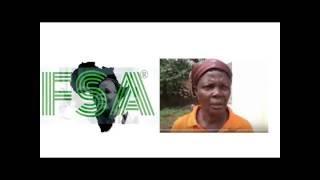 Fenêtre sur l'Afrique: edouabégbé avec la militante Tamea