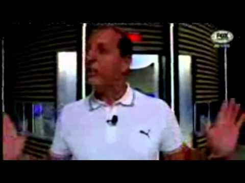Apresentador do Fox Sports sem saber que estava no ar fala palavrão ao vivo 06 11 2014