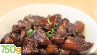 Recette du Porc au caramel Chinois - 750 Grammes