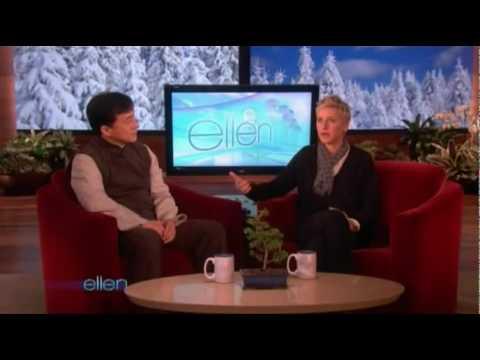 Jackie Chan Ellen DeGeneres Interview 8 01 2010 Full