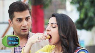 Tumhari Paakhi   Golgappe Challenge take Pakhi And Veer   Life Ok