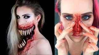 ✦Special Effects Makeup Transformations | Halloween Makeup Tutorials 2017